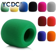 YCDC Durable Top Quality Practical Windshield Sponge Foam Mic Cover Handheld Stage Microphone Windscreens
