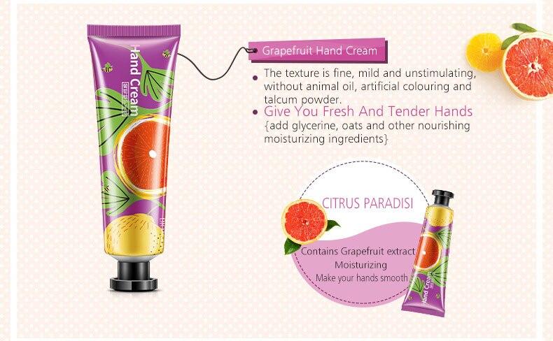 Whitening Rejuvenation Hand Cream Moisturizing Nourishing Repair Anti Aging Anti Chapping Hand Care Beauty 5pcs Set 10