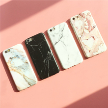 "Hot sell Phone Cases For iPhone 6s Case IMD matte soft tpu Marble Stone Pattern Back Cover For iphone 6 6s 7 plus 4.7"" 5.5"" Capa"