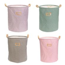Cute Linen Desktop Storage Fine Net Laundry Anti-deformation Folding Bra Care Organizer Sundries Cosmetic Cabinet Basket Bag(China)