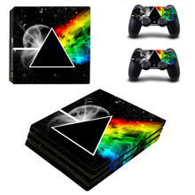 Decal PS4 Pro Skin Stickers for Sony PlayStation 4 Pro Console and 2 Controllers Decorative Skins