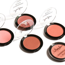 6 Colors  Baked Blush Makeup Cosmetic Natural Baked Blusher Powder Palette Charming Cheek Color Make Up Face Blush