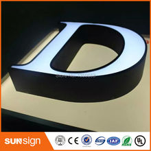 LED channel letter signs type 3d signs