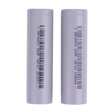 3.7V 18650 Rechargeable battery with standard battery packing 2500 mAh high drain Power battery 186502 Pcs Li Traction Battery