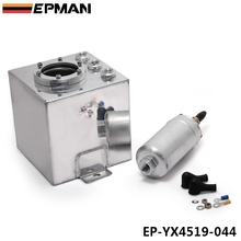 EPMAN Universal 2L Aluminium Oil Catch Tank/Fuel Cell/Fuel Tank/Fuel Can with 044 Fuel Pump EP-YX4519-044