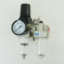 Industrial Air Filter Moisture Water Trap Pneumatic Tools Oil Lubricator AC2010-02(China)