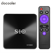 DOCOOLER TV BOX S10 Smart TVBOX Android 7.1 S912 Octa Core DDR4 3G/32G VP9-10 4K H.265 2.4GHz 5.0GHz WiFi 1000M LAN Media Player(China)