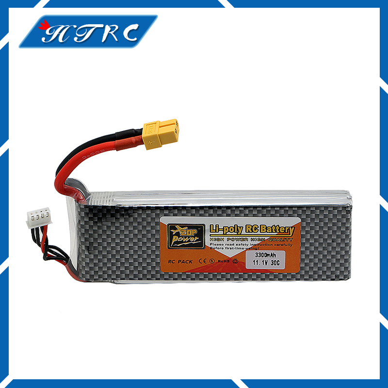 3S lipo battery 11.1v 3300mAh 30C For rc helicopter rc car rc boat quadcopter Li-Po lymer battey Free shipping<br>