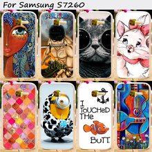 TAOYUNXI Cell Phone s Case For Samsung Galaxy Star Plus Pro S7262 S7260 Case Hot Painting Hard Plastic Cover Original Phone Case(China)