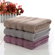 Simanfei 2017 New Solid Cotton Bath Towel High Quality 70cm*140cm Soft Brief Brand Towels Toalla Playa 400g