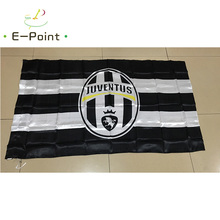 Italy Juventus FC 3ft*5ft (90*150cm) Size Christmas Decorations for Home Flag Banner Gifts(China)