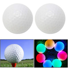 Little Night Golf Party Favors Wonderful Light-up Color Flashing Glowing LED Electronic Golf Ball For Kids Gift Party Favors