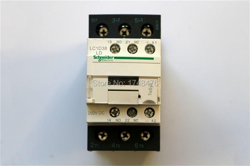 TeSys D Contactor 3P 38A LC1D38 LC1D38LD LC1-D38LD 200V DC 200VDC<br><br>Aliexpress