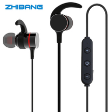 Buy ZHIBANG 2018 New Holzer Wireless Bluetooth earphone sport Earbuds headphones microphone headset stereo headphone for $12.55 in AliExpress store