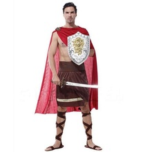 New Hot Masquerade Ancient Greek Spartan Role Playing Cosplay Costumes Halloween Carnival Roman Warrior Performance Clothing