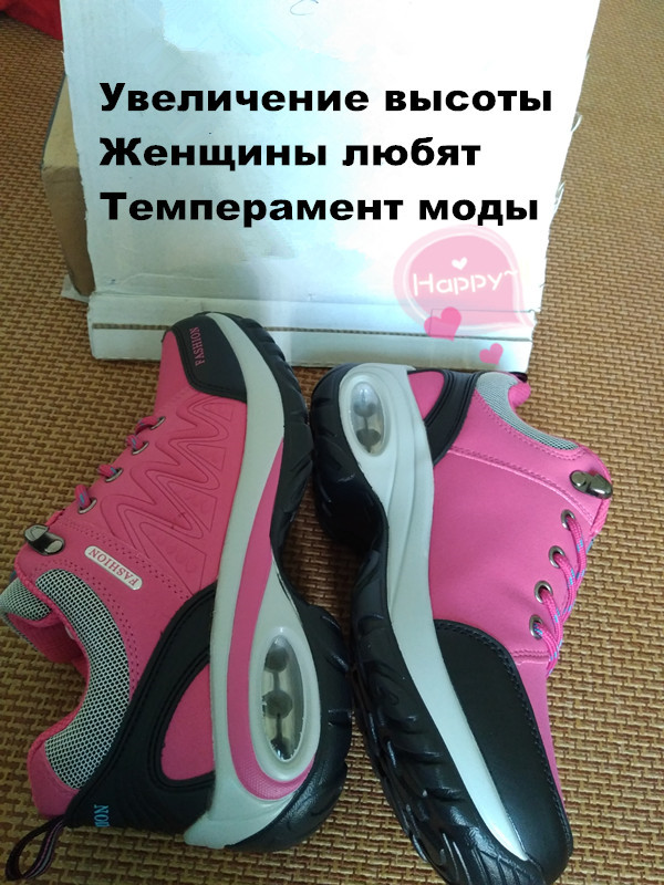 17 High quality Sneakers women shoes Running shoes woman leather Sport Shoes Air damping Outdoor arena Athletic zapatos mujer 6