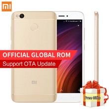 "Original Xiaomi Redmi 4X Mobile Phone 2GB RAM 16GB ROM Snapdragon 435 Octa Core 5.0"" HD 4100mAh Fingerprint 13MP Camera MIUI 8.2"