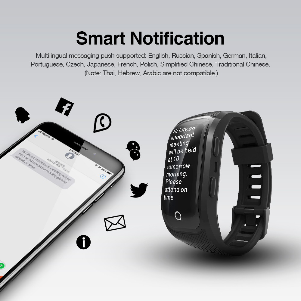 GPS Smart Band with Heart Rate Tracker 12