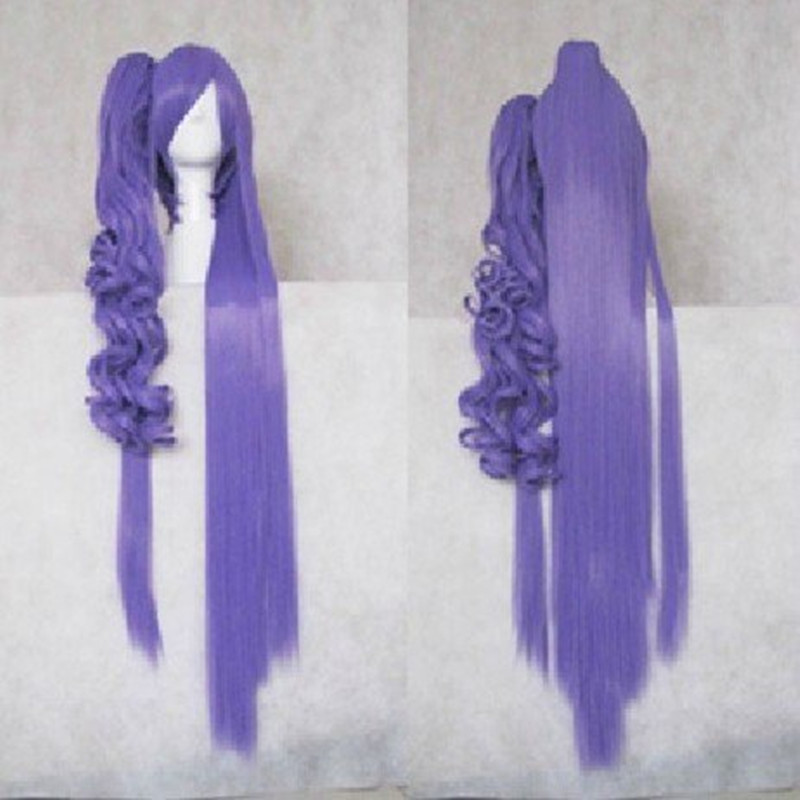 HAIRJOY Cosplay  Purple  Wigs Animi  VOCALOID Gakupo 120cm Long Synthetic Heat Resistant   With Ponytail Perucas Costume Wig<br><br>Aliexpress
