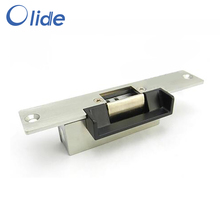 304 Stainless Steel DC12V Electric Strike Door Lock For Access Control System With 3mm Plate And Slot