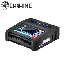 Eachine Touch T100 7A 100W AC/DC Balance Charger Discharger For LiPo/NiCd/PB Battery For RC Model(China)