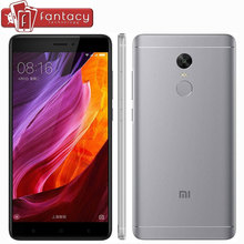 "Original Global Version Xiaomi Redmi Note 4 4GB 64GB Qualcom Snapdragon 625 Smartphone 5.5"" FHD 13MP Fingerprint ID MIUI 8.1 CE"