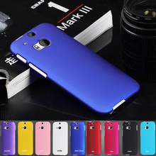"M8 UV Painting Anti-skid Surface Business Style Matte Hard Click Case For HTC ONE M8 ONE2 5.0"" Mobile phone Protective Cover"