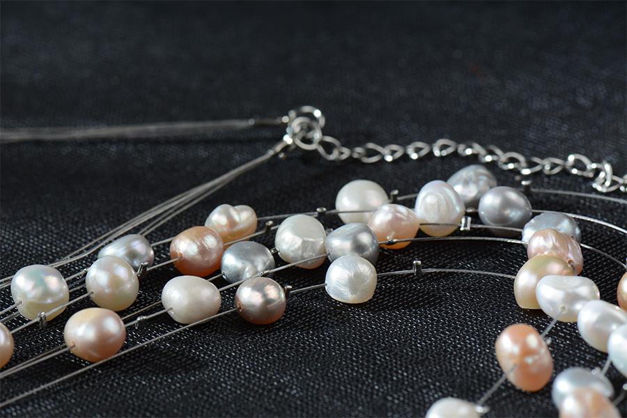 HTB1tDEvRVXXXXceXXXXq6xXFXXXQ - RAVIMOUR Simulated Pearl Jewelry Multilayer Boho Choker Necklace for Women Fashion Baroque Perlas Statement Necklaces & Pendants