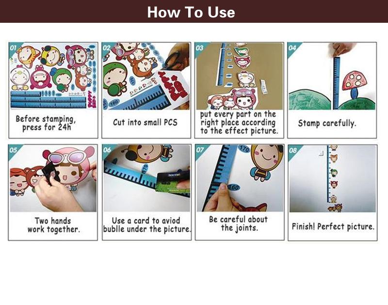 HTB1tDHlm8fH8KJjy1Xbq6zLdXXak - Pink Cartoon Cat Rabbit Flower Wall Sticker For Baby Girls Kids Rooms