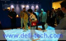 Free delivery cost of interactive floor projection for event display and exhibition