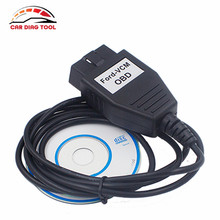 Free Ship 2016 For Ford vcm obd diagnostic interface FOCOM USB cable Support Multi-Languages For FORD/Mazda Stable Version(China)