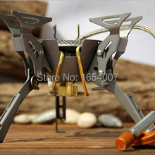 2017 New Fire Maple Titanium Stove Camping Cook Gas Burners Backpack Stove Cooking Outdoor Camping Hiking FMS-100T 2450W