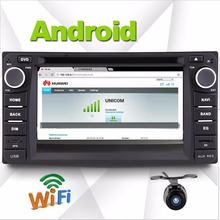Android 4 car dvd player Toyot corolla 2008 2009 2010 2011 2012 2013 in dash 2din car gps navigation+wifi+steering wheel control