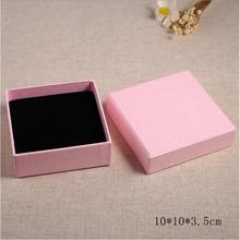 New Pink Fashion Jewelry Gift Boxes Top Quality Jewelry Carrying Cases Packaging & Display box
