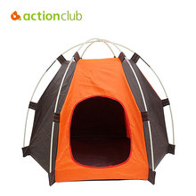 Actionclub Folding Kennel Oxford Waterproof Foldable Tent Small And Medium Pets House Fashion Outdoor Camping Home Travel House