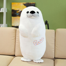 Stuffed Sea Lion Plush Animals Large Ocean Toys Doll Cute Pillow Bonecas Birthday Gift Almofadas Toys For Children Girls 60G0400