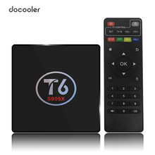 2GB 16GB Amlogic S905X Quad Core T6 Android 6.0 TV Box Smart Set top Box AirPlay Miracast VP9 3D H.265 UHD 4K Media Player(China)