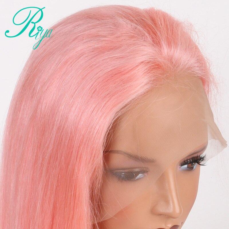 pink human hair wig (2)
