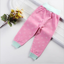 PluckyStar New Cotton Baby Pants Colorful Kid Trousers Soft Infant Apparel High Waist Baby Clothes Spring Autumn Child Pants P16