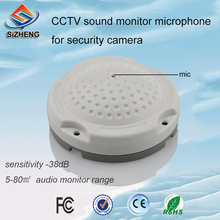 SIZHENG COTT-QD40 CCTV audio microphone with original voice sound monitoring for indoor environments