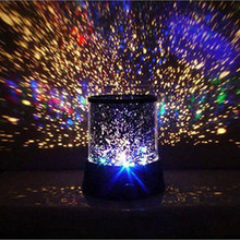 LED Lamp Starry Sky Nightlight Projector Bedroom Star Cosmos Master Lamp Kids Gift LED Light PVC AA Battery Night Light