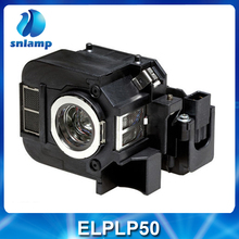 Snlamp Vervanging ELPLP50/V13H010L50 Projector Lamp met behuizing voor EB-824 EB-825 EB-825H EB-826W EB-84 EB-85 EMP-825 ect.(China)