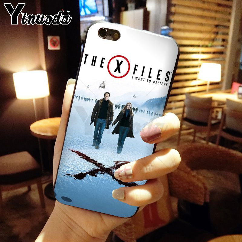 The X-Files Alien UFO retro Poster Retro Kraft
