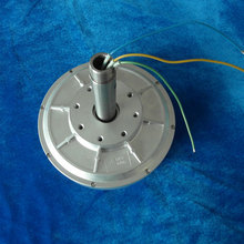 PMG260  100w 28VDC 130R vertical axis wind turbine disc Coreless Low RPM PMG Three Phase Permanent Magnet Generator