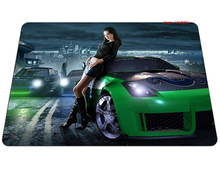 Need for Speed mouse pad girl car pad to mouse notbook computer mousepad city road gaming padmouse gamer to keyboard mouse mats(China)
