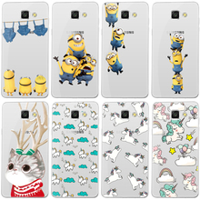 Minion Coque For Samsung Galaxy J3 J5 A3 A5 2016 S5 S6 S7 Edge Grand Prime Cover for iPhone X 8 7 4S 5 5S 5C SE 6 6S Plus Case