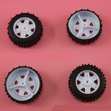 10PCS 2x37mm Rubber wheel/Dump truck Wheel/hot wheel tamiya/diy toy accessories/technology model parts rc car XJCL372AH