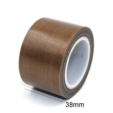 1 Roll High Temperature PTFE Teflon Adhesive Tape 38mm x10meter * 0.13mm(T)