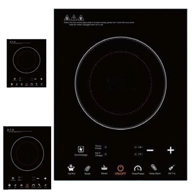 Hot Sale Induction Cooker LED sreen control panel induction cooker touch screen durable glass plate Induction Cookers <br>