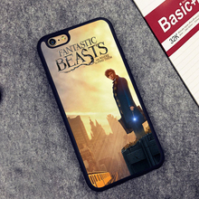 Fantastic beasts and where to find them  Soft TPU Shell Skin Phone Case For iPhone 6 6S Plus 7 7 Plus 5 5S 5C SE 4 4S Back Cover